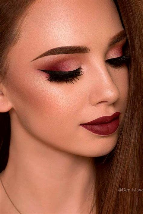 Lipstick With Burgundy Shirt types of makeup that boys like and find attractive to a miladies net