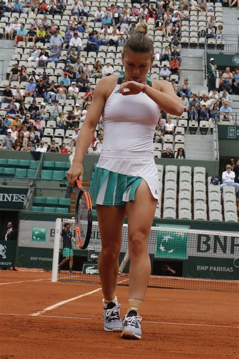 simona halep french open tennis tournament  roland