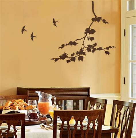 modern dining room wall dands furniture