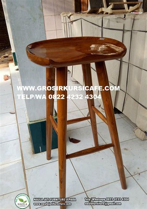 Kursi Bar Stool Kayu kursi bar stool jati pesanan ibu yuyun dari bekasi selatan