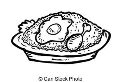 bowl of rice black white line art tatoo tattoo fried stock illustrations 7 699 fried clip art images and
