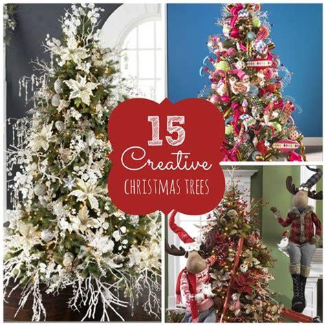 15 amazing christmas tree ideas pretty my party 15 creative christmas tree ideas pretty my party