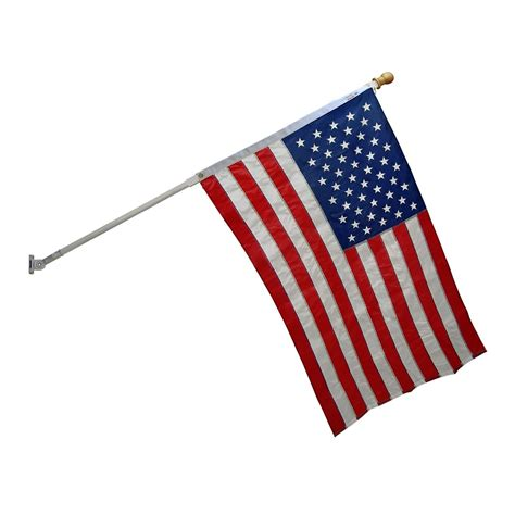Matras American No 2 american flagpole kit with sewn valley forge flag