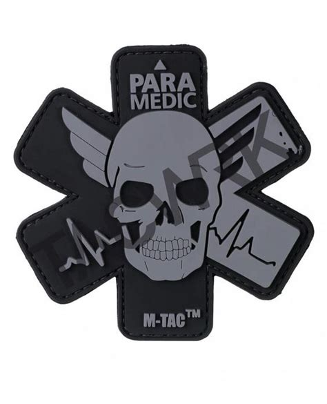 paramedic patch anything grey