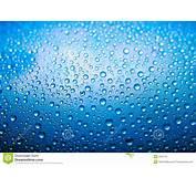 Gotas Del Agua Azul Fotos De Archivo Libres Regal&237as