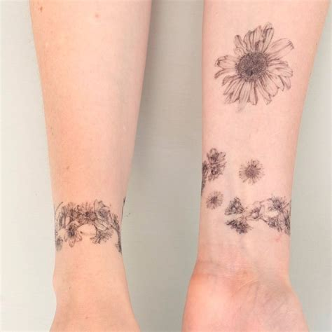 flower chain tattoo designs best 25 chain ideas on