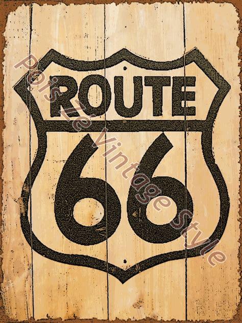 imagenes retro de cumpleaños placa vintage retr 244 route 66 wood poisz 233 artesanato elo7