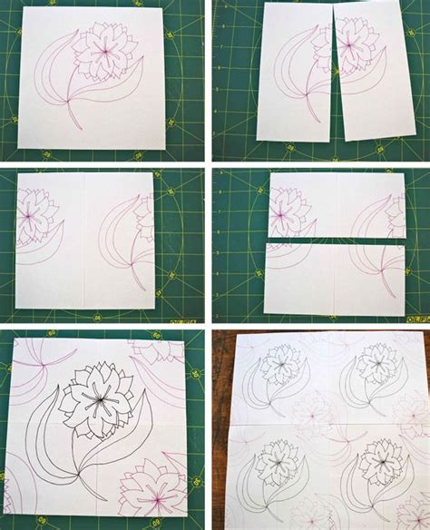 pattern design repeat how to make a simple fabric repeat sewing pinterest
