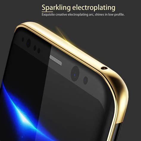 Murah Baseus Glitter Hardcase For Samsung Galaxy S8 Black baseus glitter hardcase for samsung galaxy s8 golden