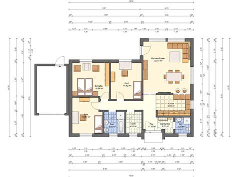 bungalow mit garage grundrisse winkelbungalow sch 246 nwalde bungalow grundriss haus