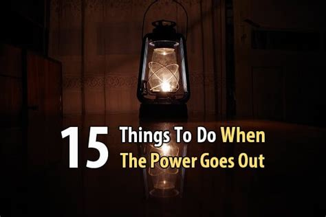 emergency lights when power goes out 15 things to do when the power goes out survival site