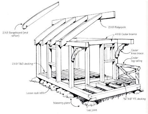 Shed Construction Details by Cabins David Jeanie Stiles