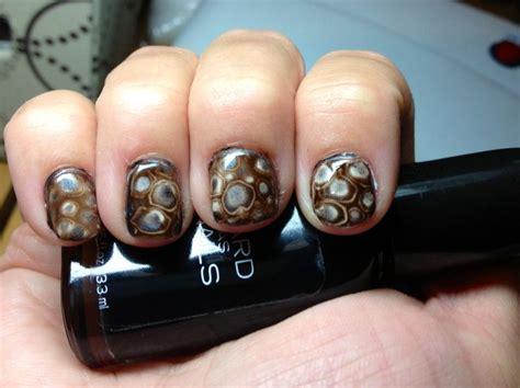 craft nail scotch tape zebra print manicure my diy animal print nails tortoise shell style nail