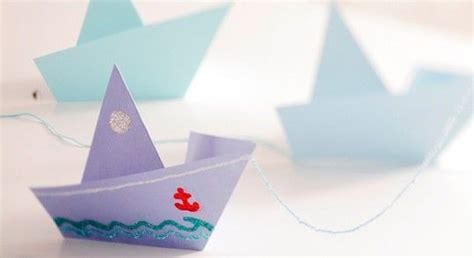 paper craft boat how to fold paper boat bachelorette