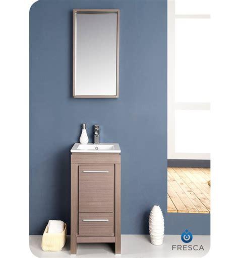 16 bathroom vanity fresca fvn8118go allier 16 quot modern bathroom vanity with