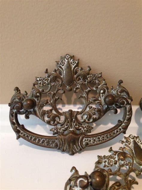 vintage ornate drawer pulls ornate drawer pulls shabby