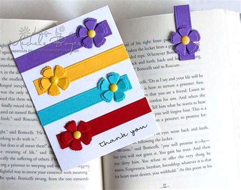 Easy Handmade Bookmarks - 3 easy diy bookmark tutorials