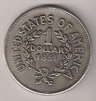1851 dollar price?(with indian head?) | coin talk