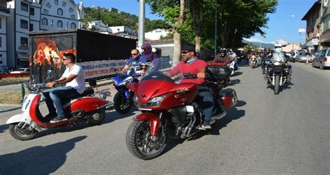 motosiklet tutkunlari niksarda sov yapti tokat
