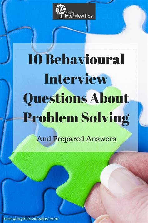 10 questions about problem solving http www