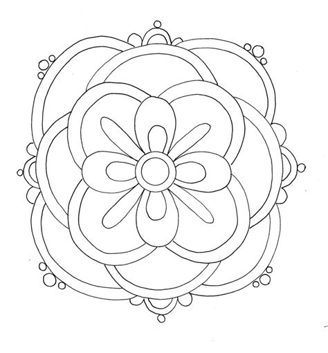 coloring design pages printables free printable rangoli coloring pages for kids
