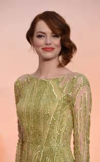 emma stone oscar emma stone 2015 academy awards in hollywood