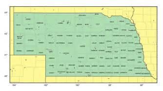 us map nebraska state detailed administrative map of nebraska state vidiani
