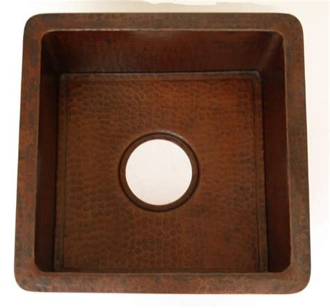 weathered copper sinks mexican copper
