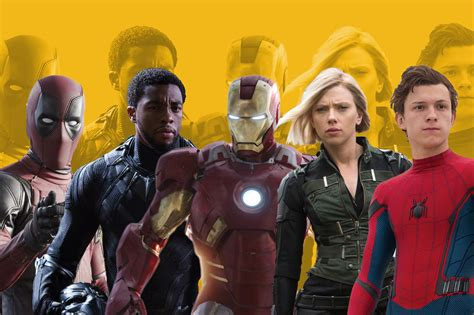 list of marvel actors a complete list of upcoming marvel movies dates casts time