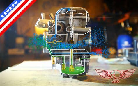 how does the cv carburetor work and diy adjustment