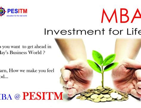 Executive Mba In Asset And Wealth Management by Global Mindset For Mba Pes Institute Of Technology And