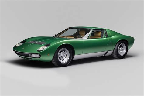 first lamborghini ever lamborghini restores first ever miura sv to its former