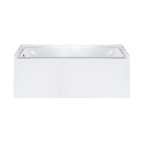 alcove whirlpool bathtub maykke pensacola 5 ft acrylic left drain rectangular