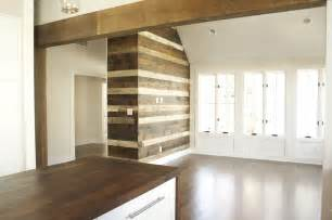 reclaimed wood divider wood accent wall ideas for your home