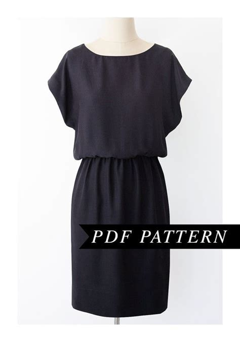 pattern for simple knit dress simple dress pattern oasis amor fashion