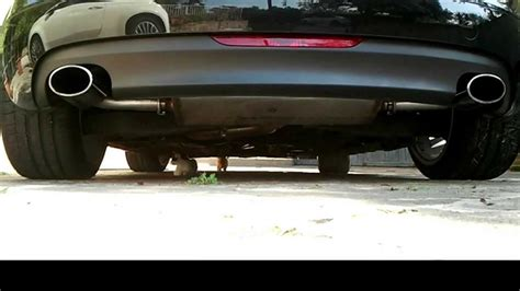 Audi Plätz by Audi Tt 2 0 Exhaust Sound Supersprint