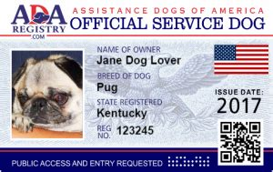 how to register your as a service animal instant service registration service registry