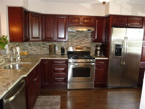 appliances granite counter tops tile  splash