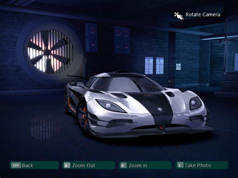 koenigsegg car from need for speed need for speed carbon cars nfscars