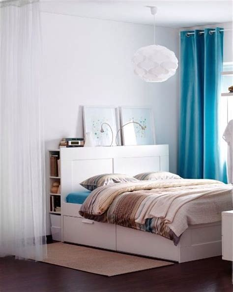 brimnes bed with lack shelf as bedside table ikea 1000 images about home decor on pinterest ikea hall