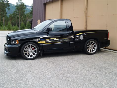 lowered trucks lowered truck from norway dodge ram srt 10 forum viper