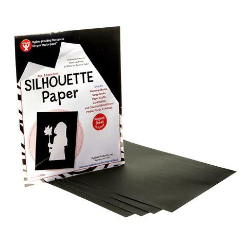 silhouette printable sticker paper 8 5 x11 8 pkg silhouette paper 25 shts per pk 8 1 2 x 11