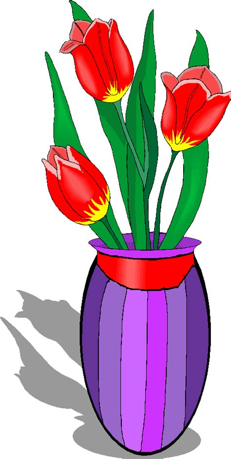 Clipart Flower Vase by Clipart Flowers In A Vase Cliparts Co