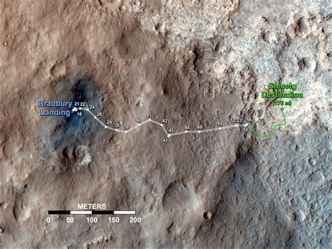 nasa curiosity s travels through sol 56