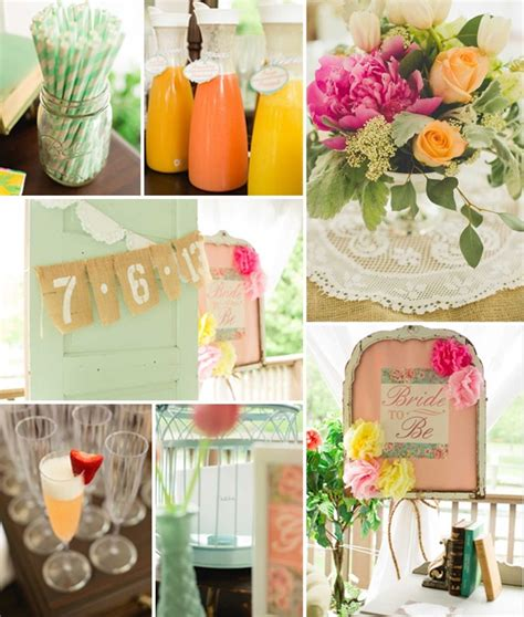Orange Bridal Shower Decorations by Top 5 2014 Trending Girly Vintage Bridal Shower Ideas