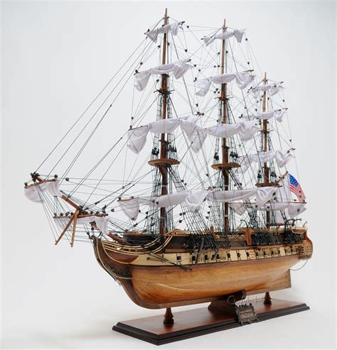 Handcrafted Ship Models - uss constitution exclusive edition 38 quot handcrafted