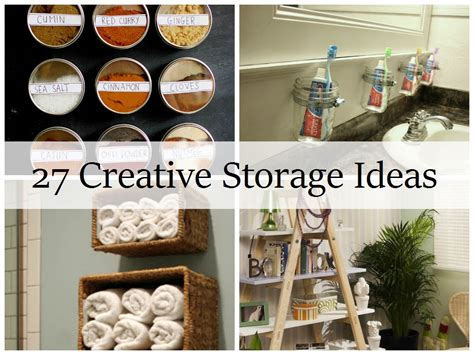 27 creative storage ideas