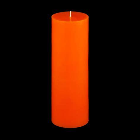 Orange Candle 3x9 Orange Pillar Candle