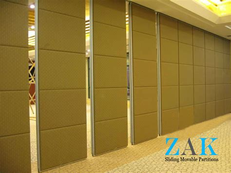types of room dividers type 100 series sliding folding partition zak partitions
