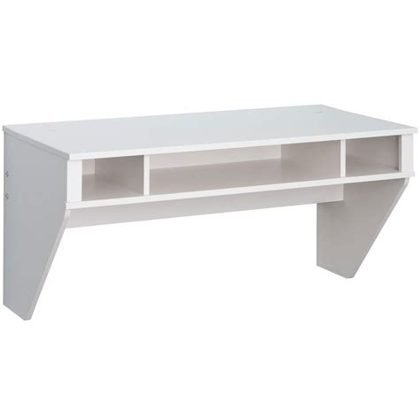 Floating Wall Desk In Desks And Hutches Floating White Desk